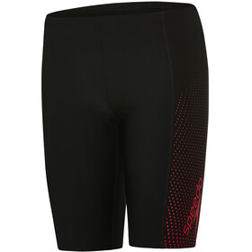speedo Gala Logo Panel Jammers Boys black/risk red